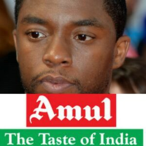 Marvel of an Actor- Amul India's Tribute to Chadwick Boseman is winning the internet