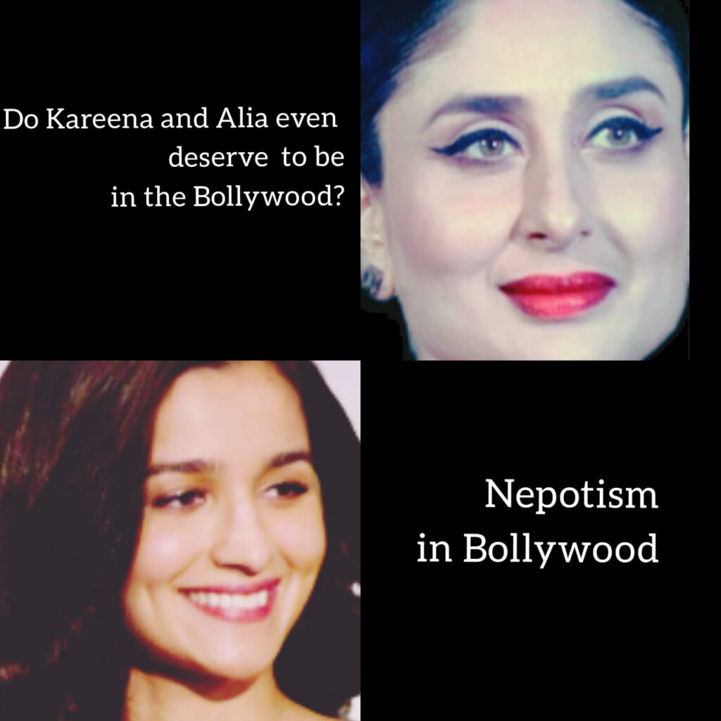 Don't stars, like Alia Bhatt and Kareena Kapoor Khan deserve to be in the Hindi Film Industry, Read our take on Nepotism