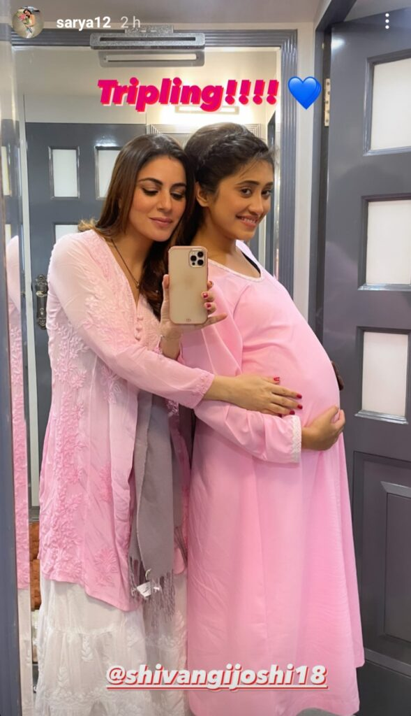 Shraddha Arya and Shivangi Joshi came together and these comments of fans will make them feel proud